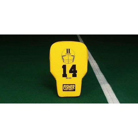 Fisher Contour Body Football Blocking Shield HD104
