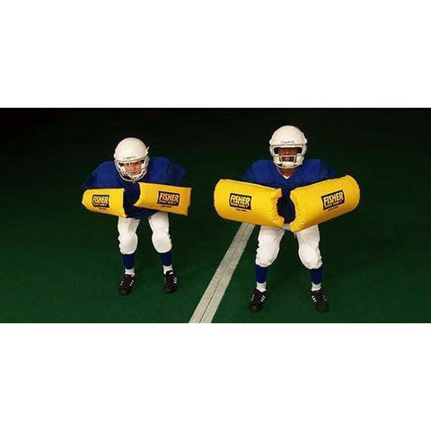 Fisher Curved Forearm Football Blocking Shields HD400
