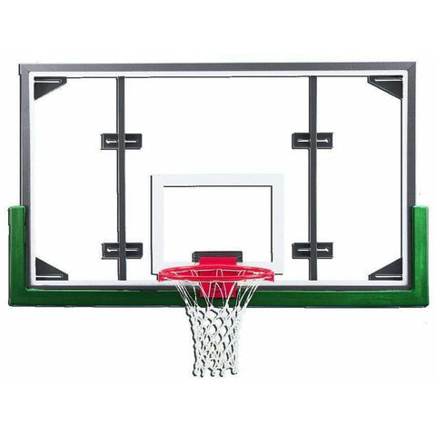 "Gared 42"" x 72"" Conversion Gymnasium Glass Backboard Package PKARG20PM"