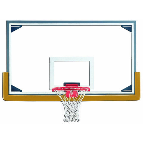 "Gared 42"" x 72"" Professional Competition Glass Basketball Backboard LXP4200"