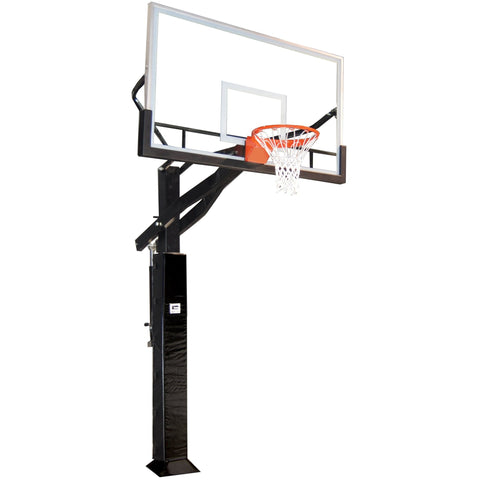 Gared All Pro Jam Adjustable Basketball Hoop with Glass Board GP12G72DM