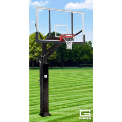 Gared All Pro Jam Adjustable Basketball Hoop with Polycarbonate Board GP12P72DM