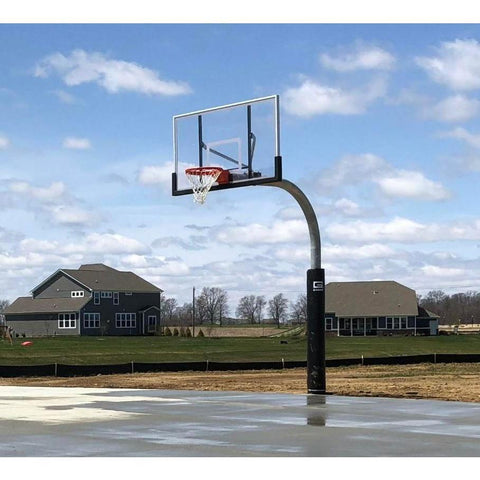 "Gared Heavy Duty 5-9/16"" O.D. Gooseneck Basketball Package PK6040"