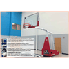 Image of Gared Hoopmaster 5 Spring-Lift Collegiate/High School Indoor Portable Basketball Hoop 9405