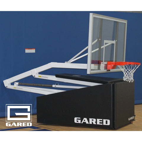 Gared Hoopmaster C72 Club Portable Basketball System 9172