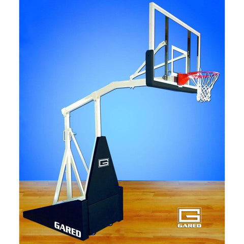 Gared Hoopmaster LT Spring-Lift Portable Basketball System w/ 5' Boom 9305