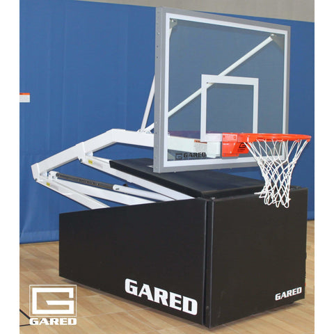 Gared Hoopmaster R54 Recreational Portable Basketball System 9154