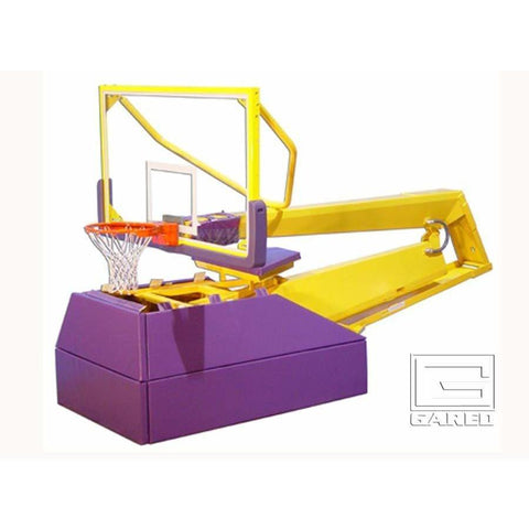 Gared Pro H Professional Hydraulic Portable Basketball System