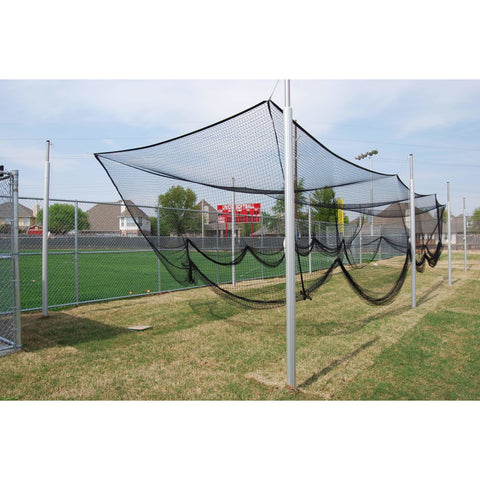 "Gared Sports 55' Outdoor 3-1/2"" O.D. Batting Cage Frame"