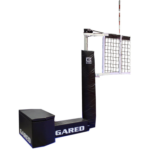 Gared Sports GoCourt Jr One-Court Portable Volleyball System 8535PKG