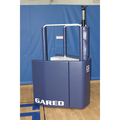 Gared Sports GoCourt One-Court Portable Volleyball System w/ Ref Stand 8500