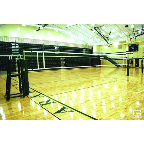 "Gared Sports Omnisteel 3"" OD One-Court Volleyball System 5100"