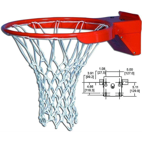 Gared Sports Snap Back B Professional Breakaway Basketball Rim SNAPB