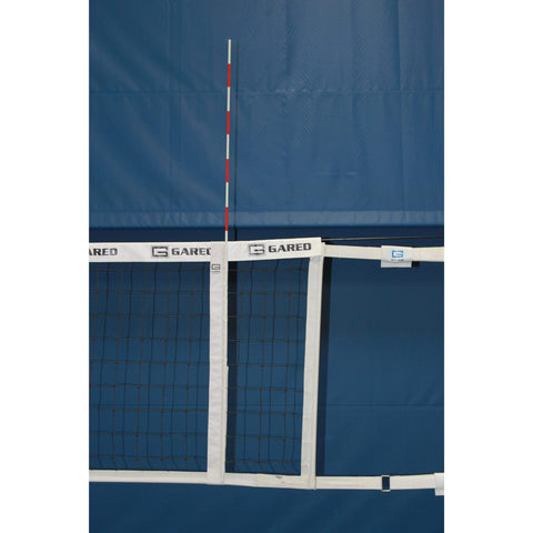 Gared Sports Volleyball Net Antenna & Sideline Marker Combo 6410