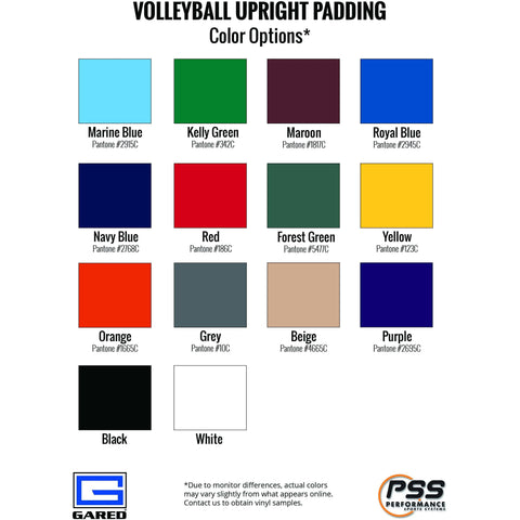 Gared Sports Volleyball Upright Safety Pad 6010