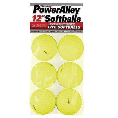 "Heater 12"" PowerAlley Lite Pitching Machine Softballs HSW14SB"