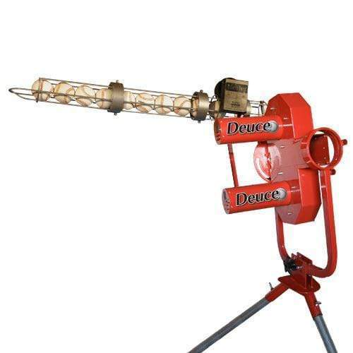 Heater Deuce 75 MPH 2 Wheel Pitching Machine w/ Auto Feeder DC799