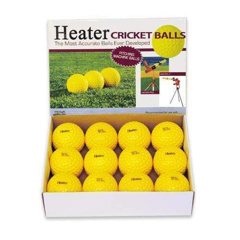 Heater Sports Cricket Bowling Machine Balls (1 Dozen) PMB29CB