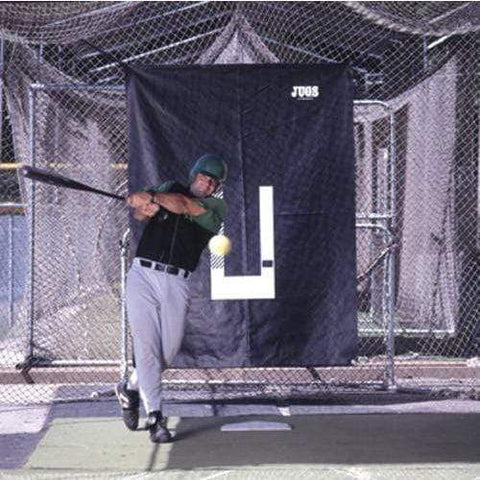 JUGS Backdrop and Pitcher's Trainer Backstop A0010