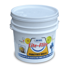 JUGS Bucket of Lite-Flite Baseballs or Softballs