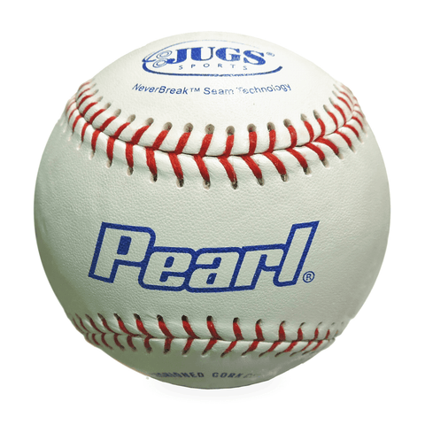 JUGS Pearl Pitching Machine Baseballs (1 Dozen) B5200