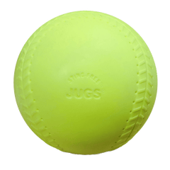 JUGS Sting-Free Realistic-Seam Softballs Game Ball Yellow (1 Dozen) B4015
