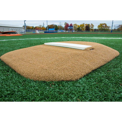 "Portolite 4"" Economy Youth Baseball Portable Pitching Mound 4434"
