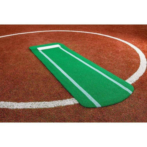 Portolite Pro Spiked Fastpitch Softball Pitching Mat