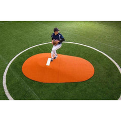"Portolite Two Piece 10"" Baseball Portable Pitching Mound 95502PC"