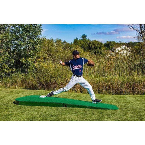 "Portolite Two-Piece 10"" Oversized Portable Practice Pitching Mound 2PC1150"
