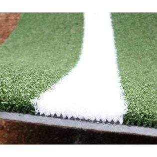 ProMounds 12' x 6' Baseball Batting Mat Pro Lined Artificial Turf AT5002
