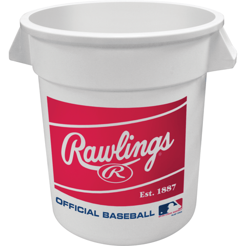 Rawlings 10 Gallon 6-pack MLB Baseball Big Bucket BIGBUCK6PK