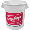Image of Rawlings 10 Gallon 6-pack MLB Baseball Big Bucket BIGBUCK6PK