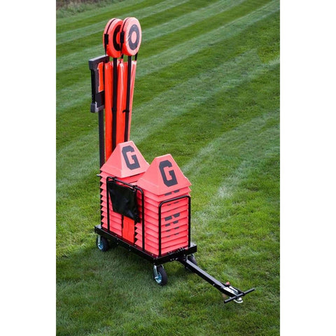 Rogers Game Day Trailer & Stadium Pro Set w/ Standard Poles 410569