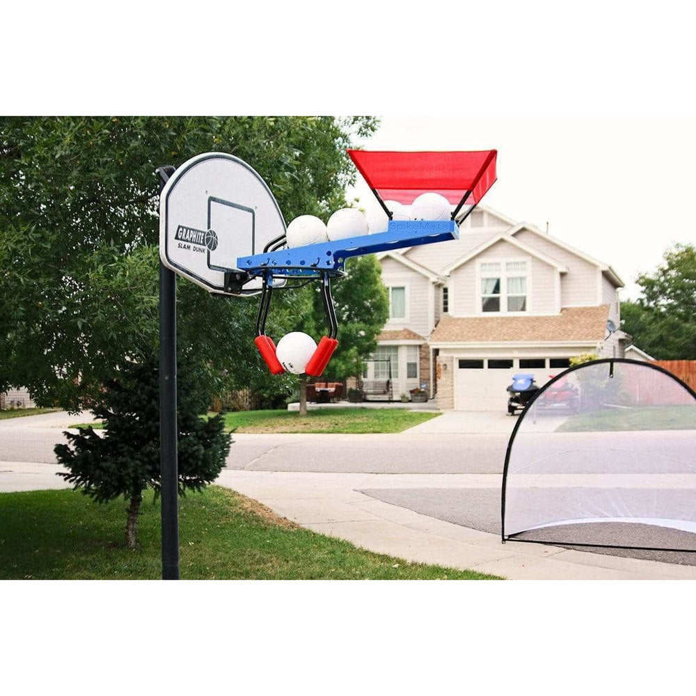 SpikeMate Volleyball Hitting Training System with Practice Net