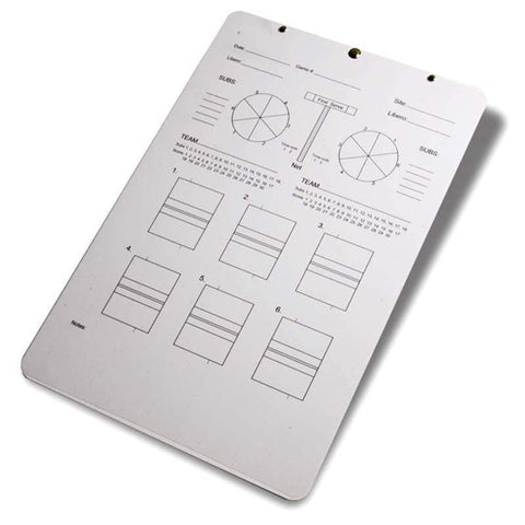 Tandem Sports Coaches Deluxe Volleyball Clipboard TSDELUXECLIP