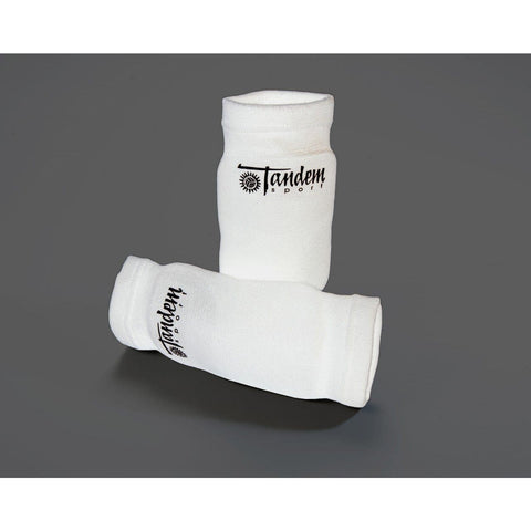 Tandem White Volleyball Elbow Pads TSWHTELBOWPAD