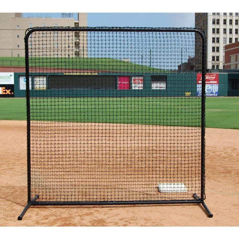Trigon 10' x 10' ProCage 'Black Series' Fungo Screen BSL10F