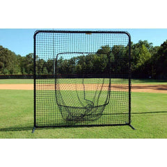 Trigon 7' x 7' ProCage 'Black Series' Sock Net Screen BSL77S