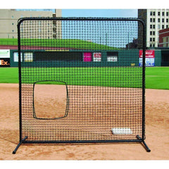 Trigon 7' x 7' ProCage 'Black Series' Softball Pitching Screen BSL77SB