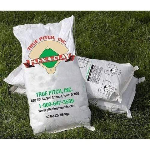 True Pitch Flex-A-Clay 50 lb Bag Each
