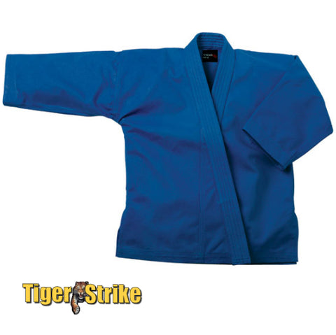 Blue Single Weave Judo Uniform