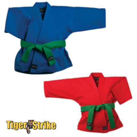 Red or Blue Karate Uniform