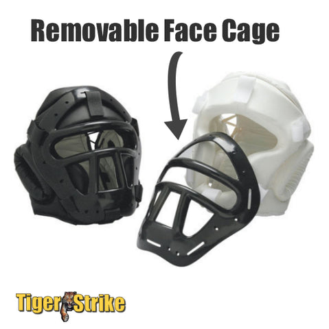 Head Guard With Cage