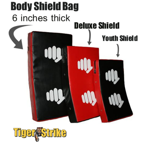 Martial Arts kicking Punching Shields & Targets That Take a
