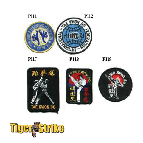 Taekwondo Patches