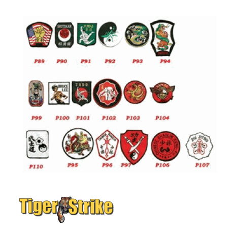 Traditional Style Patches