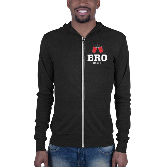 bro zip-up
