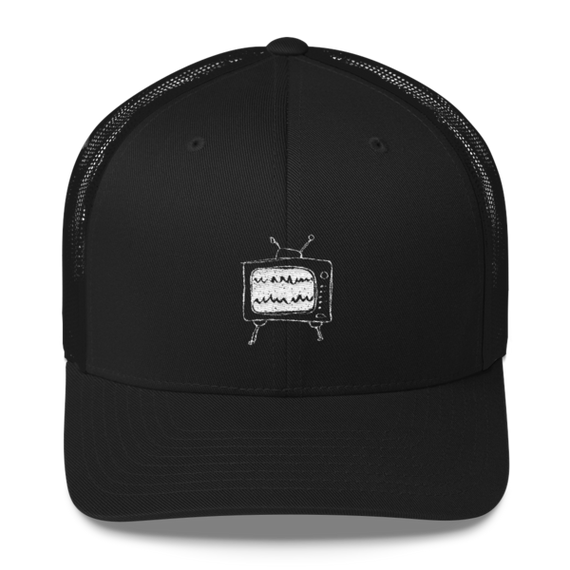 relaxed tv mesh cap