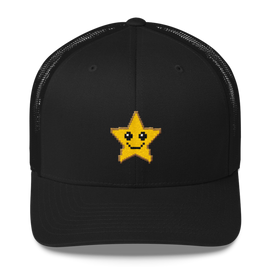super star mesh cap
